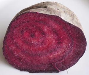 Frisch aus dem Beet: Rote Bete. (Foto: Wikimedia).
